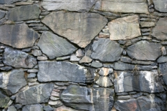 Perseverance-stone wall