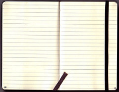 Blank Moleskine Pages by Sembazuru is licensed under a Creative Commons Attribution 4.0 International License.