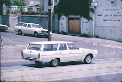 White Station Wagons, Valiant and Holden by JOHN LLOYD is licensed under a Creative Commons Attribution 4.0 International License.