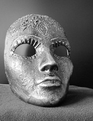 Mask by Sybil Liberty is licensed under a Creative Commons Attribution 4.0 Intrnational License.